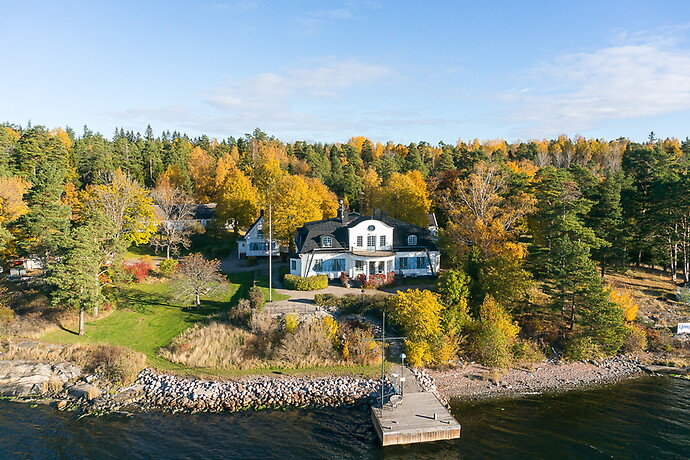 Soluddsstigen Waxholm - Sveriges dyraste villor