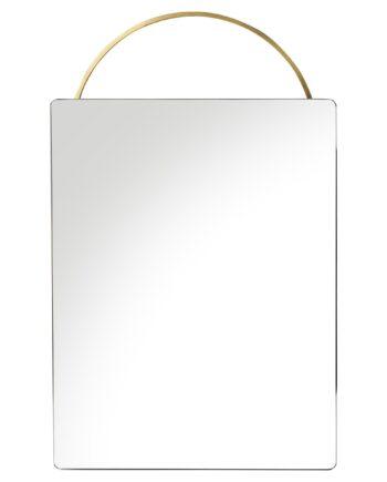 Adorn spegel 53x35 cm mässing