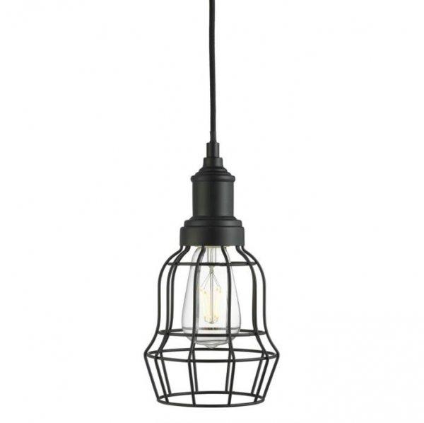 Bell cage fönsterlampa (Svart)