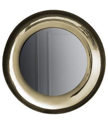 Brera spegel, mässing