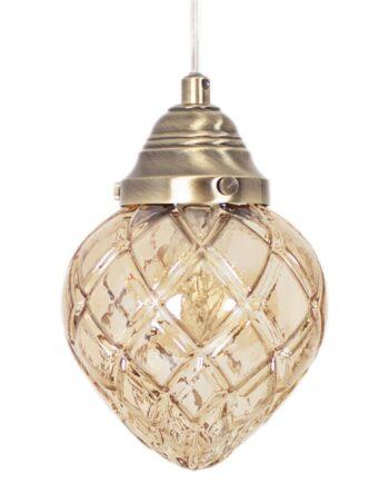 Bristol fönsterlampa amber