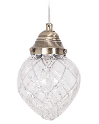 Bristol fönsterlampa transparant