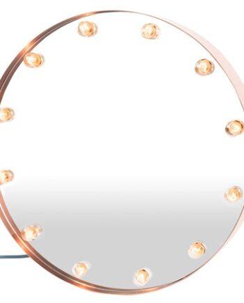 Cirkuslampan spegel - Koppar