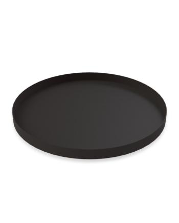 Cooee bricka 30 cm rund black