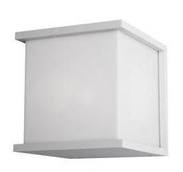 Cube vägg vit