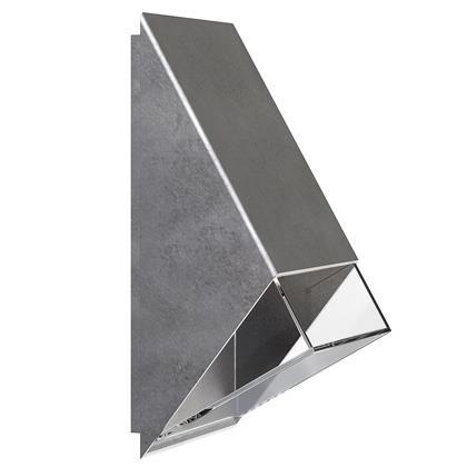 Edge fasadbelysning galv (Galvaniserat Stål)