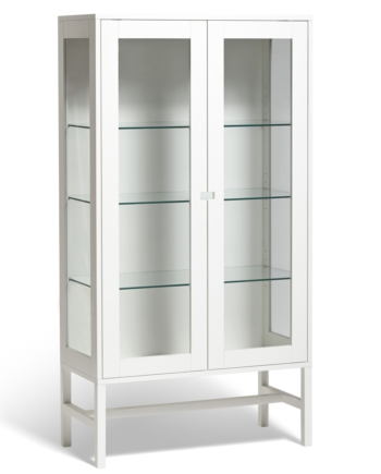 Falsterbo vitrinskåp glas 150cm, Mavis