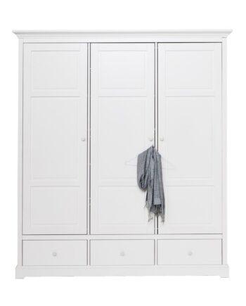 Garderob med tre dörrar H195, Oliver Furniture