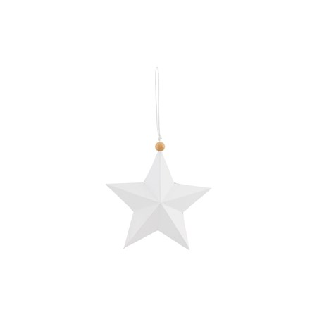 House Doctor Ornament Star 12 cm - Vit