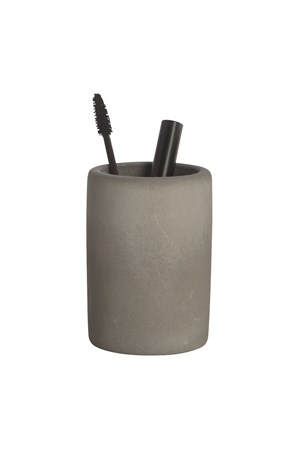 House Doctor Tandborsthållare Cement Ø 8x11 cm - Grå