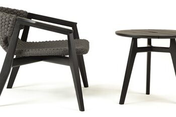 Lounge grupp inklusive stol & bord