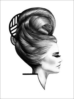 MAGDALENA TYBONI - Donna Poster (Storlek: 50x70)