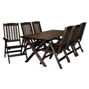 Matgrupp Oliver: Bord inklusive 6 st stolar