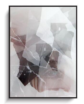 Northern Story Eyes 9 Cracks poster poster – 30x40 cm