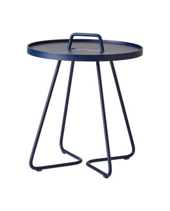 On-the-move bord midnight blue, Cane-line