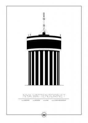 POSTER – Nya vattentornet Linköping