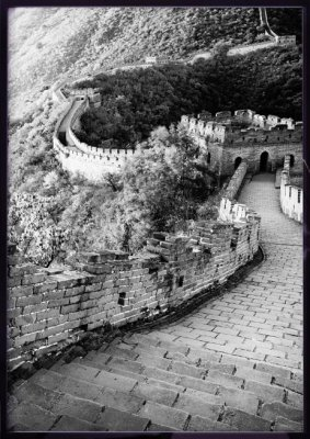POSTER - Kinesiska muren 50x70