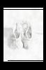 Poster Balettskor 50x70 cm