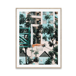 Poster Cities of Basketball 01, 30 x 40 cm