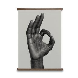 Poster OK, 30 x 40 cm