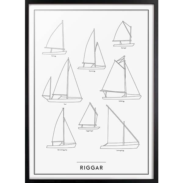Riggar poster, 50x70cm