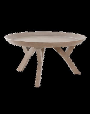 SAXDALEN soffbord ø 91 cm Trä