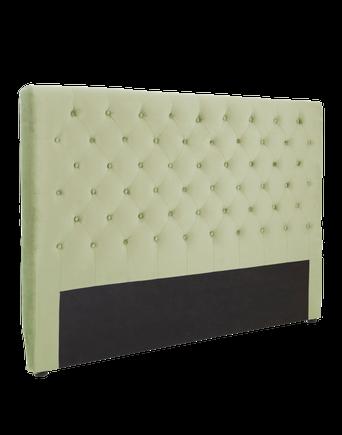 SKENE sänggavel 160 cm Ljusgrön