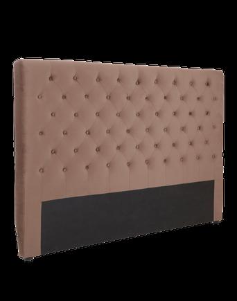 SKENE sänggavel 160 cm Mullvadsbrun