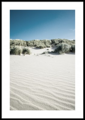 Sand dune, poster (13x18 cm)