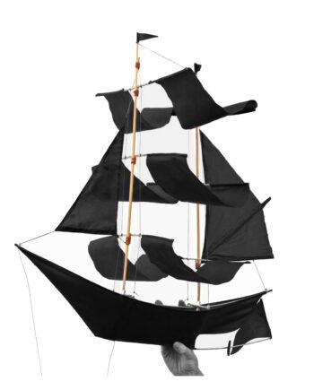 Skepp mobil Sailing Ship Kite svart, Haptic lab