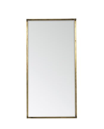 Spegel SASA 38 x 76 cm mässing, Broste Copenhagen