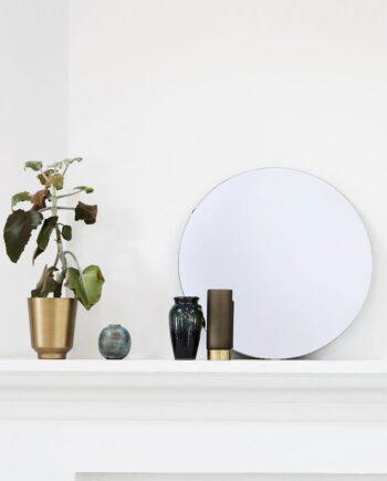 Spegel rund 50 cm