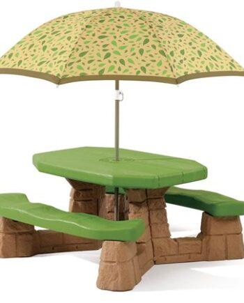Step2 Möbelgrupp inkl. parasoll