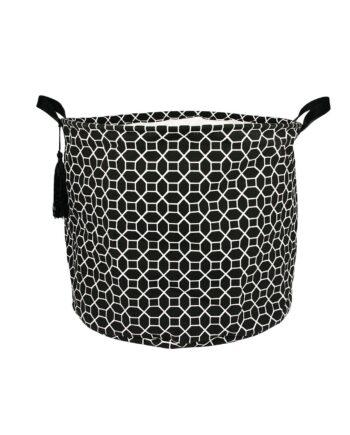 Tvättkorg Newby black h:35 cm, Pipol´s Bazaar