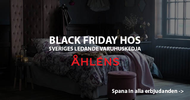 Åhlens Black Friday 2018
