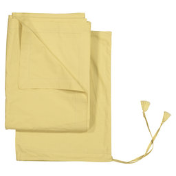 Flat Bed Sheet Solid Colour, 240x260 cm, Mustard