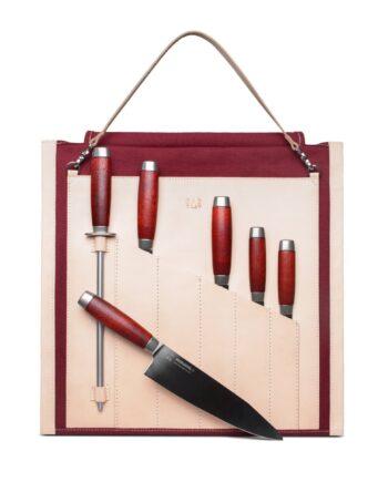 Sandqvist Morakniv knivrulle för Classic 1891 kniv röd