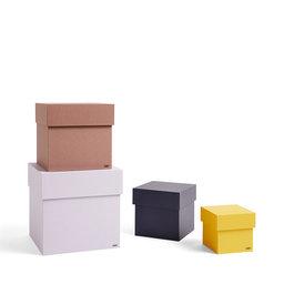Förvaringsbox, 4-pack, Box Box Set, 23x23x23 cm