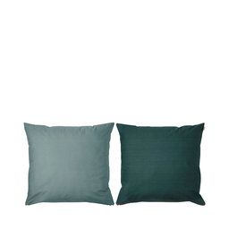 Örngott Shades, 50x60 cm, mörkgrön