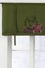 OAKVILLE roll up-gardin - stort tryck Grön