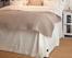 Sängkappa Herringbone Bedskirt