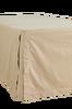 Sängkappa Leah i tvättad satin med sidenlook