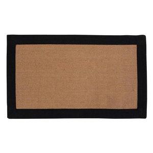 Dörrmatta Tod - Svart/brun - 60x90 cm