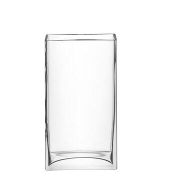 LSA International Flower vas rectangular klar 32 cm
