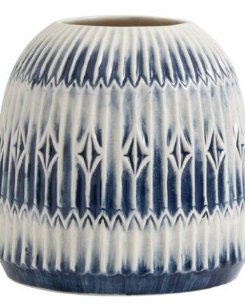 Nordal Vas Blue Rill Rund - Large