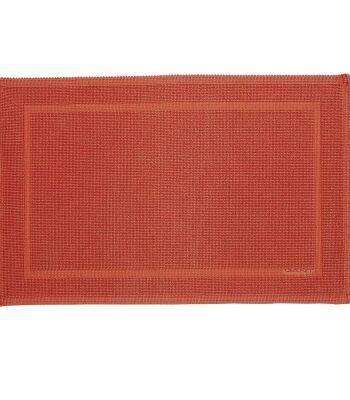 Original badrumsmatta 60x90cm, coral orange