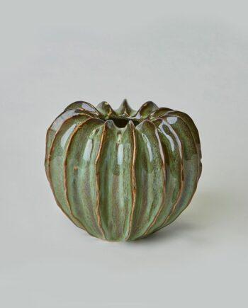 Vas Gourd M grön