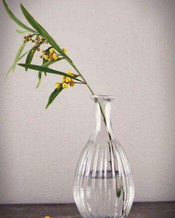 Vas klarglas hög 7x14 cm