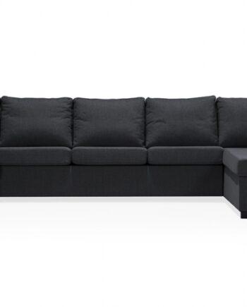 ÖLAND U-soffa XL Höger Svart