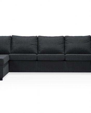 ÖLAND U-soffa XL Vänster Svart